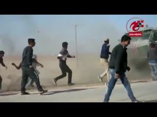 """Курды закидали наш """"тайфун"""" коктейлями молотова. кто там у нас любит выть, что им подкинули?"""