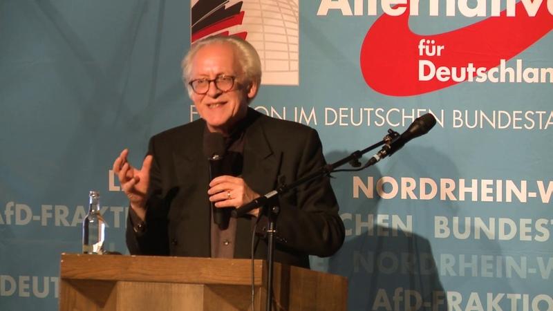 Weg in den Totalitarismus Martin Renner AfD Bürgerdialog in Dorsten 17 09