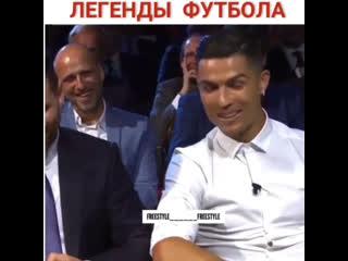 Золотые слова Роналду в сторону Лео Месси  Это уважение Легенд  Переведено и озвучено на русском