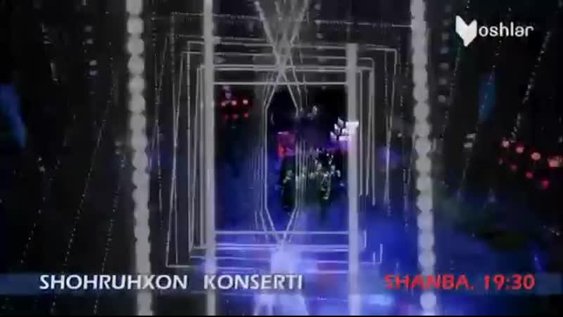 16 Noyabr shanba 19 30 da YoshlarTv Shohruhxon Shaydo Konsert Dasturi O'tkazib Yubormang Shohruhhonkoncert2017