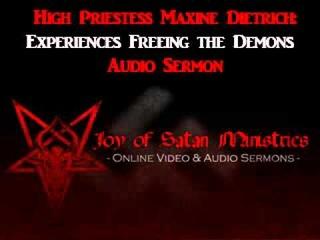 Joy of Satan: Experiences Freeing the Demons – High Priestess Maxine Dietrich Sermon's