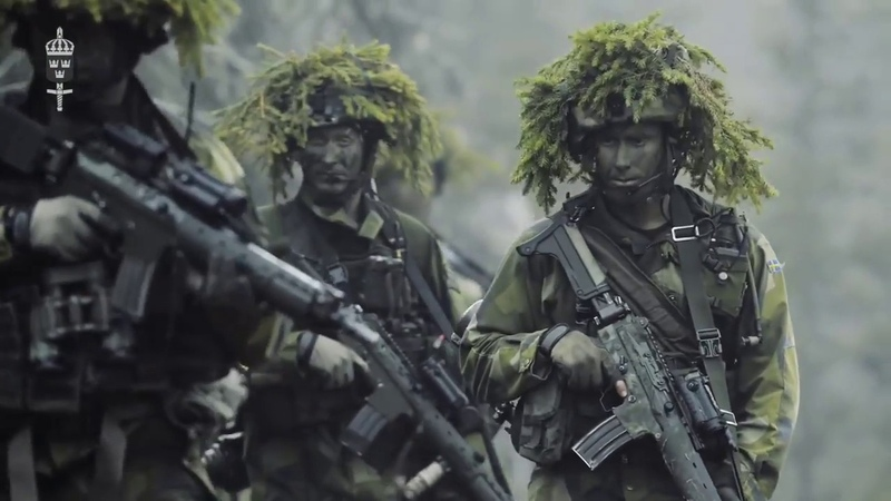 Du Gamla Du Fria Swedish Armed Forces Not Official