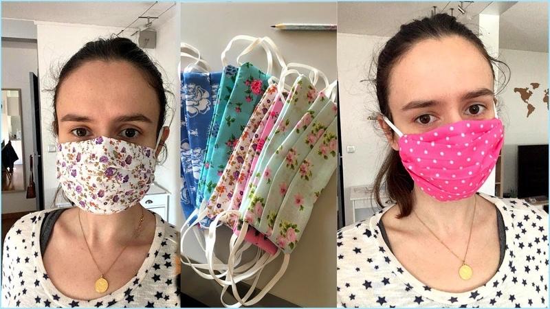 Coudre un masque réutilisable avec ouverture pour filtre