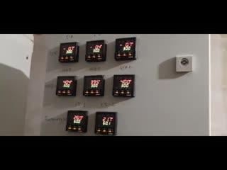Система контроля двигателя 325 кВт от КИПлаб.РФ