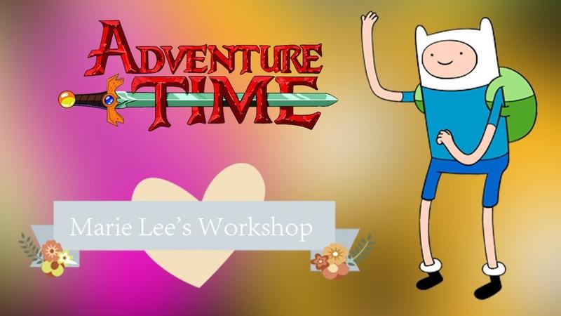 Время приключений ФИНН ПОЛИМЕРНАЯ ГЛИНА МАСТЕР КЛАСС Аdventure time FINN Marie Lee's Workshop