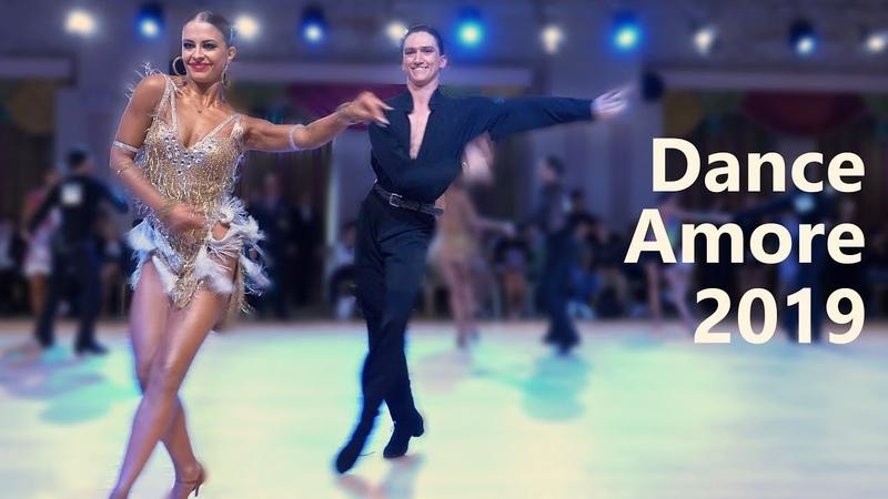 Tagir Mansurov Sasha Kondrashova USA Dance Amore 2019 Amateur Latin SF Cha cha cha
