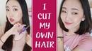 另類教學: 如何自己剪頭髮! I CUT MY OWN HAIR l Hello Catie