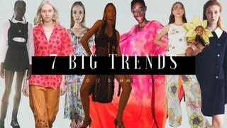 7 Big Trends - Spring/Summer 2021