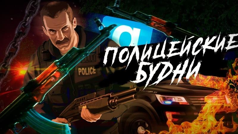 Полицейские будни в Garry`s mod DarkRP