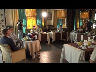 Пресс-завтрак с заместителем Губернатора Михаилом Глазковым