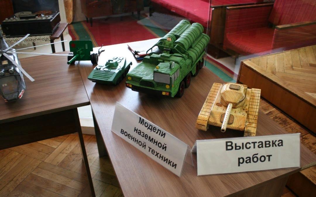 Юные конструкторы представят военно-технические модели на областном конкурсе