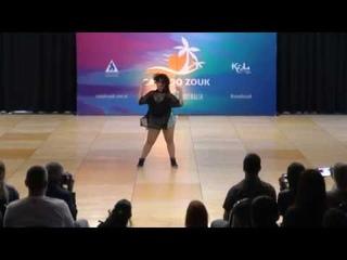 BRAZILIAN ZOUK SOLO Casa do Zouk 2019 - dancer Bruna Pecanha
