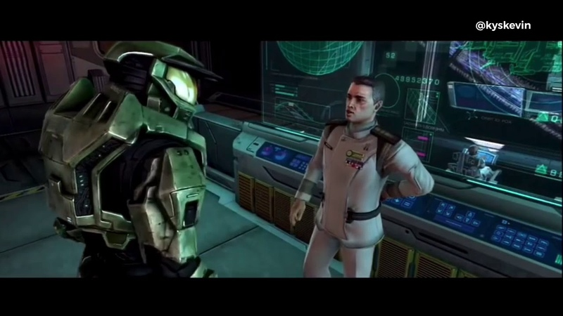 """Master Chief He turned himself into a Pickle"""" ft Steve Downes"""