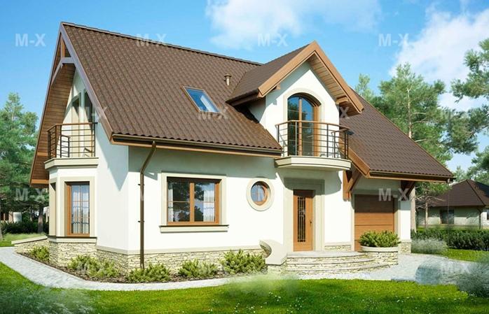 Разновидности мансардных домов в Калининграде