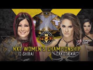 Io Shirai VS Dakota Kai