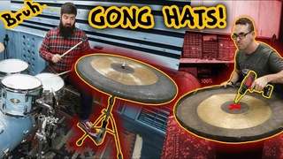 I Made a Set of Hi-hats out of GONGS Because @EMCproductions Wouldn't