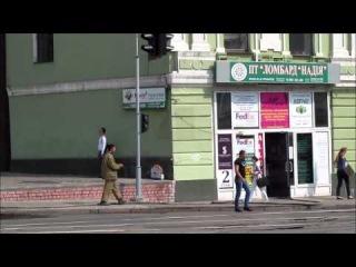 Пожар на Университетской улице в Харькове