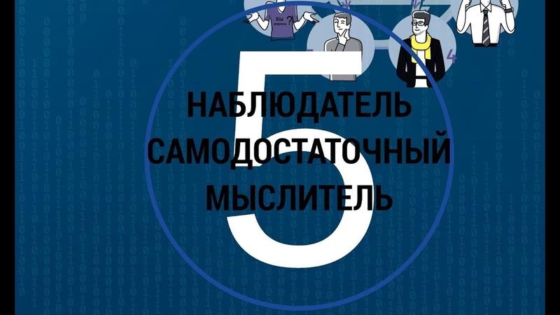 5 Наблюдатель мыслитель самодостаточный МАТРИЦА 9ФИГУР командные роли 5 пять пороков команды