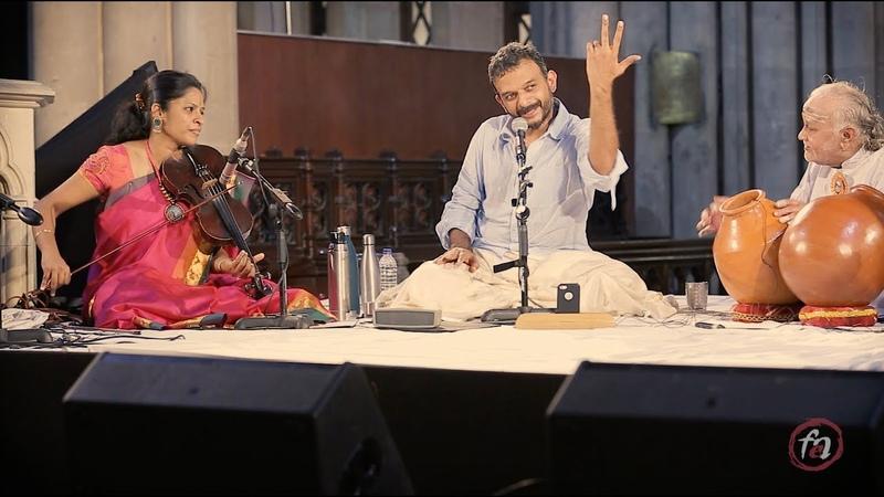 TM Krishna feat. Vikku Vinayakram: Live at Afghan Church, Mumbai - Raga Kapi