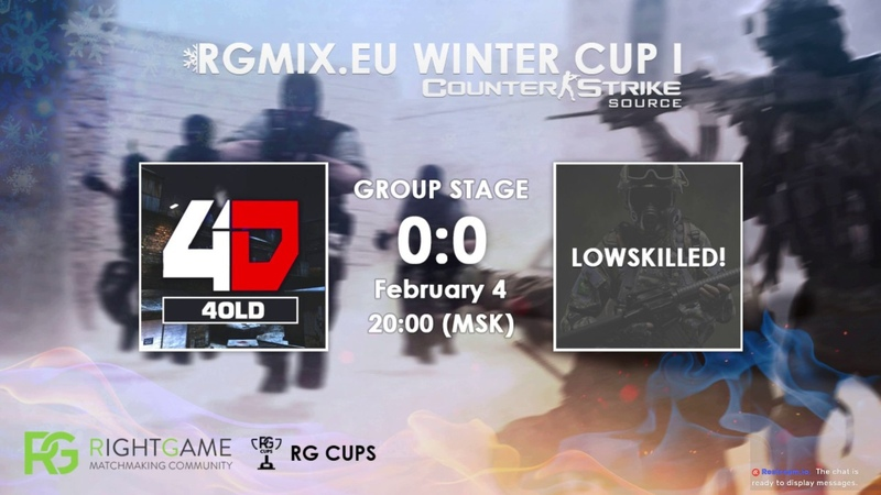 RGMIX.eu Winter Cup 1 [4OLD vs LOWSKILLED!] Group А