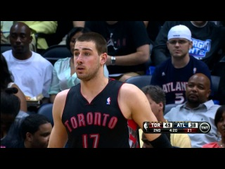 International Play of the Day: Valanciunas Throws Down