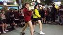 2018.10.7 고싶은거리 대 럭버거앞 스킹 합팀(디엠X레드크루) by큰 4
