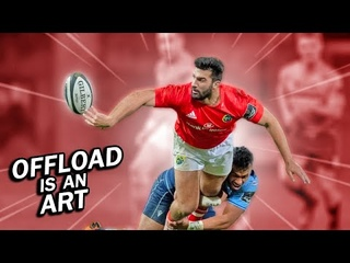 When Offload is an Art in Rugby