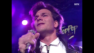 Patrick Swayze   She's Like The Wind TopPop Norway 1987