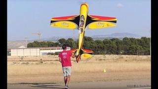 Pedro Precioso RC Sukhoi 3m KRILL Model Airshow Aragón 2016