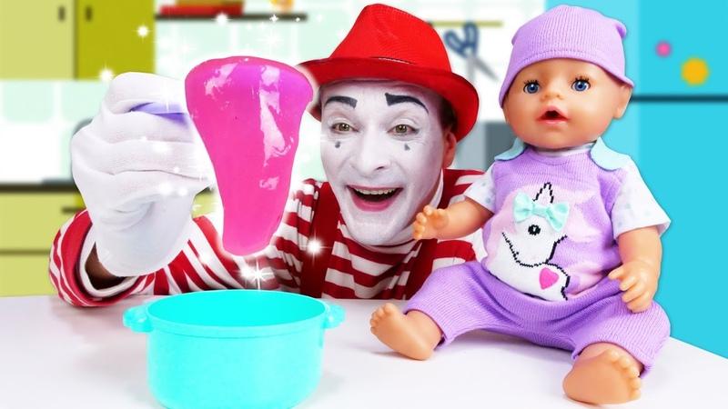 Детские мультики Кашка для БЕБИ БОН Смешные видео с куклами Baby Born Новые игры онлайн