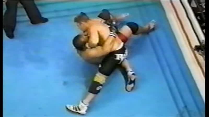 2000.10.09 (17) - Renato Sobral vs. Tariel Bitsadze [Rings - King of Kings 2000 Block A]
