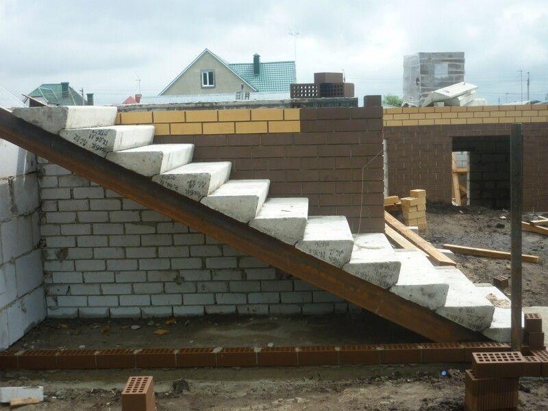 Советы по изготовлению бетонной лестницы, изображение №7