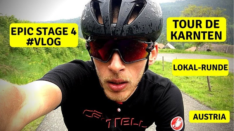 Велогонка Tour de Karnten | Lokal Runde | EPIC 4 Stage | Cycling Race with Telemetry | VLOG