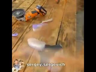 Мастер Сергей Сергеевич. Хорошая самоделка для мытья ковров