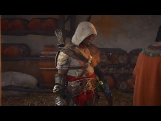 Assassin's Creed Origins Проклятие Фараонов DLC — Все ролики [Русская Озвучка] Игрофильм [OBpr4N68K80]