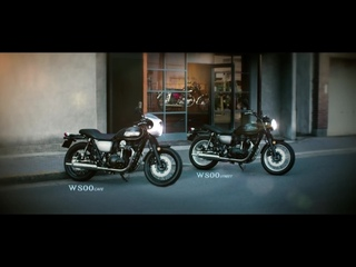 The Original Icon _ The new Kawasaki W800 Street  W800 CAFE 2019 _ Official Action Video_1080p