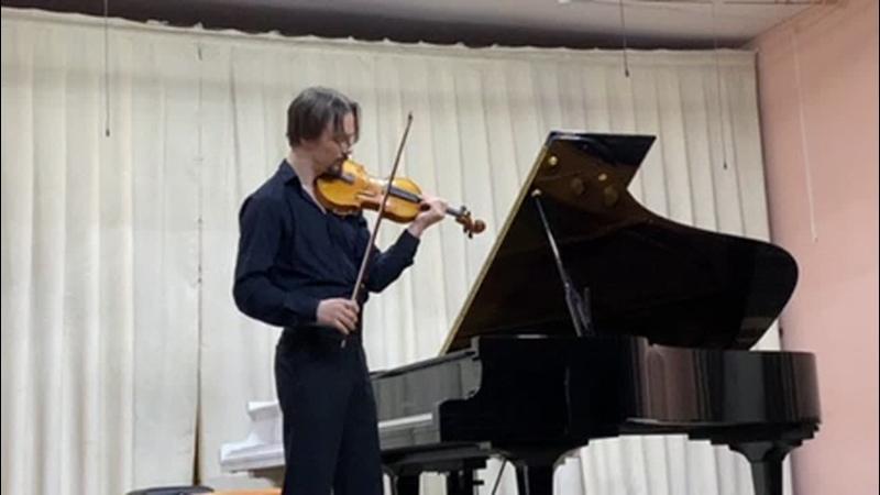 Иван Иванов- Н. Паганини, Вариации на тему из оперы Дж. Паизиелло «Прекрасная мельничиха»