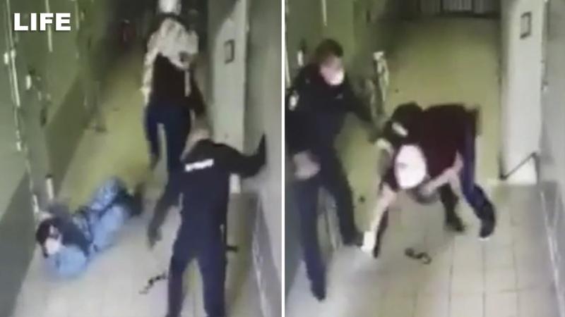 Ростовский Рэмбо раскидал троих полицейских в изоляторе