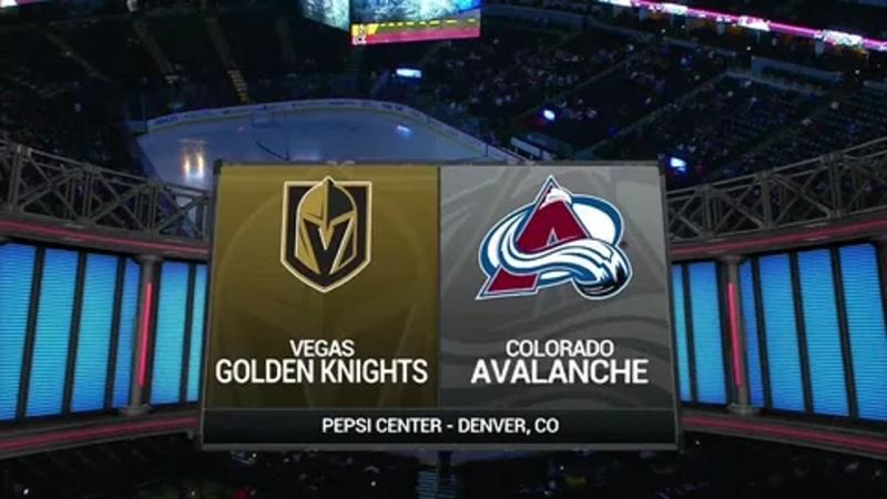 Vegas Golden Knights vs Colorado Avalanche Live Stream