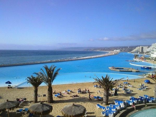 Самый большой в мире бассейн на чилийском курорте Сан-Альфонсо-дель-Мар, изображение №3