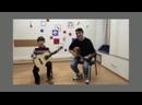 Классная игра на гитаре!