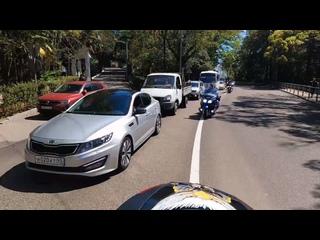 Колонна мотоциклов Bike Tour Sochi