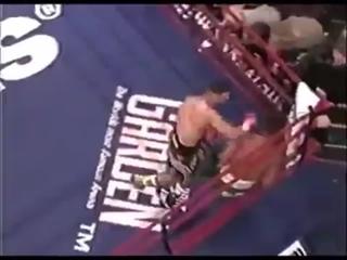 вот это бой!!4 раунда 6 нокдаунов Принц Насим vs Кевин Келли