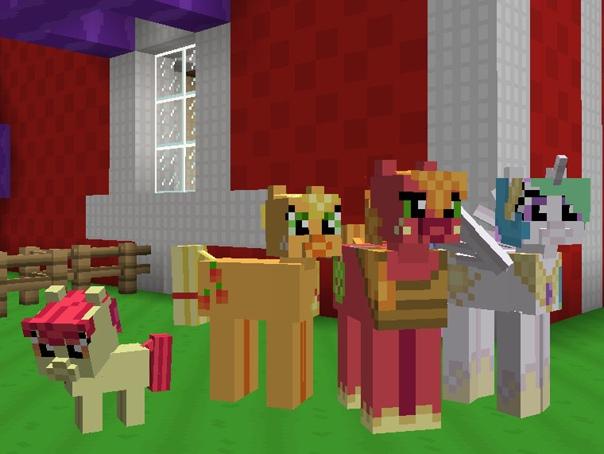 игры майнкрафт пони для девочек для компьютера #4