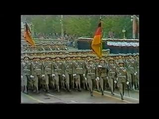 Слава Пруссии-Военный парад ГДР 1989 год