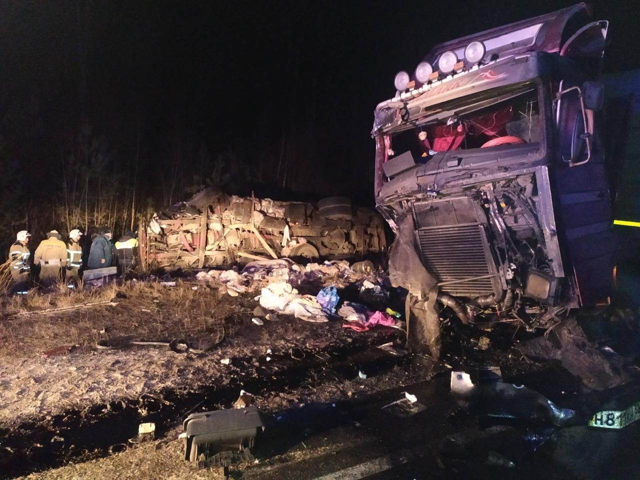 авария в Балахнинском раойне 19 ноября