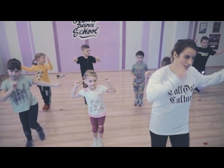 Хип-хоп дети 5-6 лет открытый урок / Юля Майер