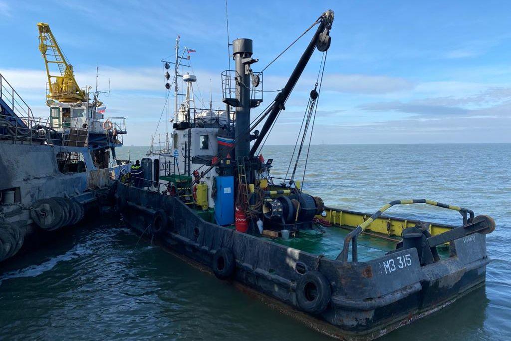 В Таганрогском заливе произведены дноуглубительные работы