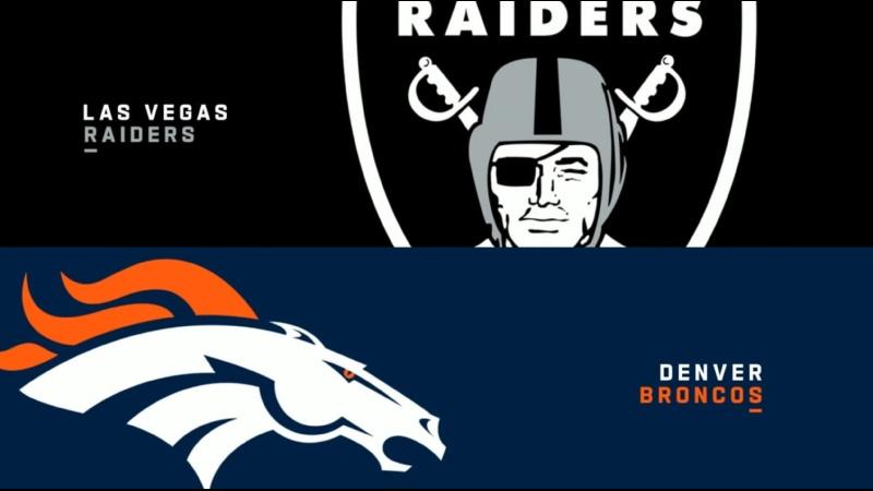 NFL 2021 W06 Las Vegas Raiders vs Denver Broncos 17 10 2021