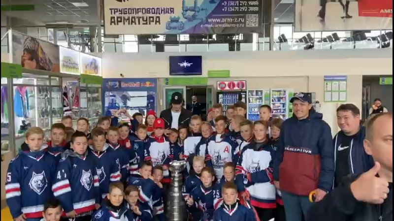 Видео от ДЮСШ Нефтехимик по хоккею